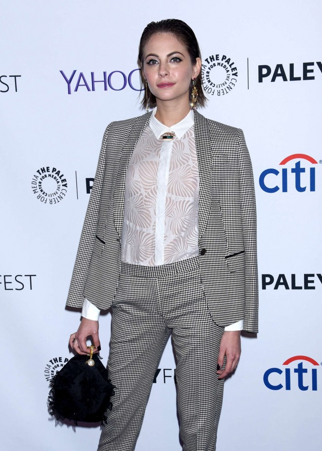 "Willa Holland - 2015 PaleyFest ""Arrow"" & ""The Flash"" Event in Hollywood"