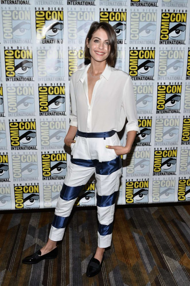 Willa Holland - 'Arrow' Press Line at Comic Con 2016 in San Diego