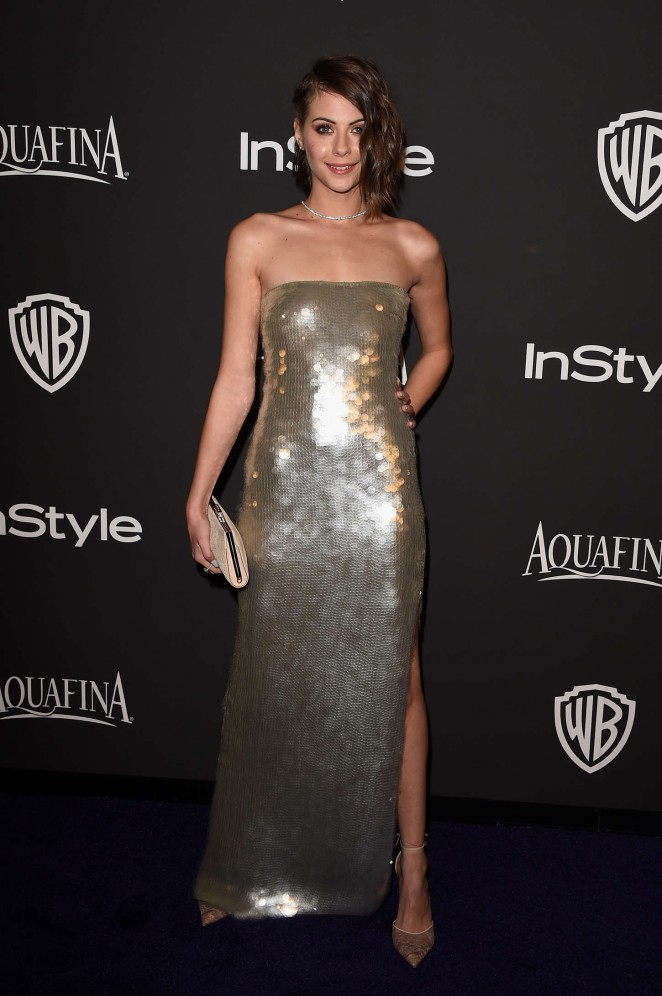 Willa Holland - InStyle And Warner Bros Golden Globes Party 2015 in Beverly Hills