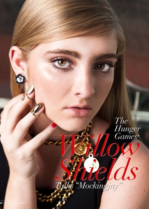 Willow Shields - Glamoholic Magazine (January 2015)