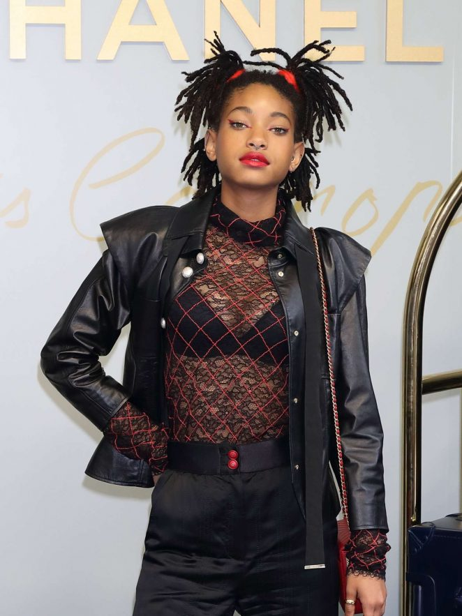 Willow Smith - Chanel Metiers d'Art Collection in Tokyo