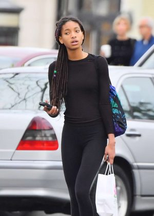 Willow Smith - Out and about in Calabasas