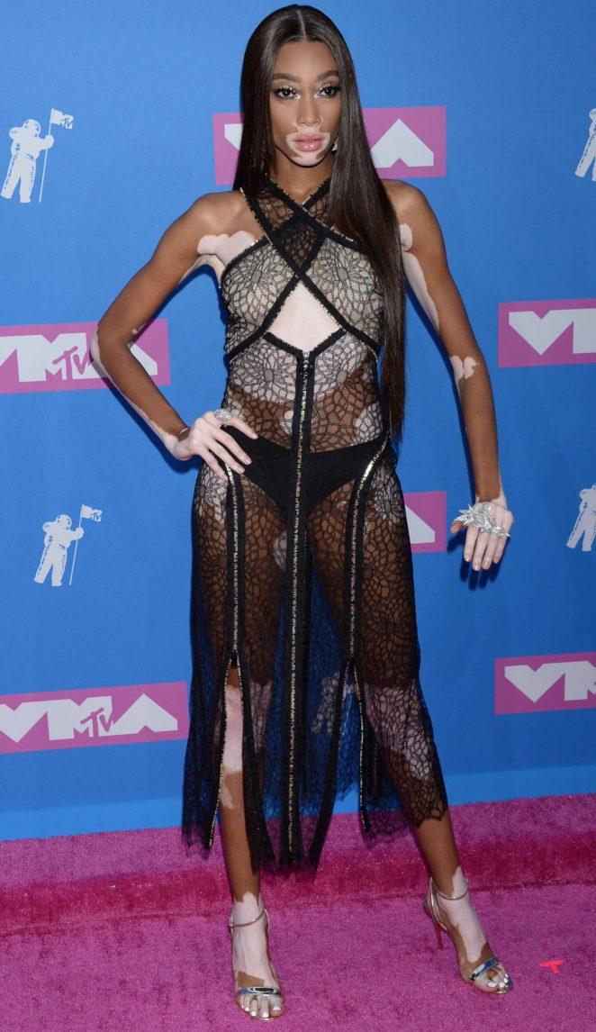 Winnie Harlow – 2018 MTV Video Music Awards in New York City