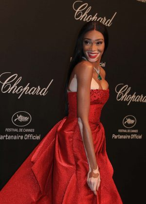 Winnie Harlow - Chopard Dinner at 70th Cannes Film Festival in France