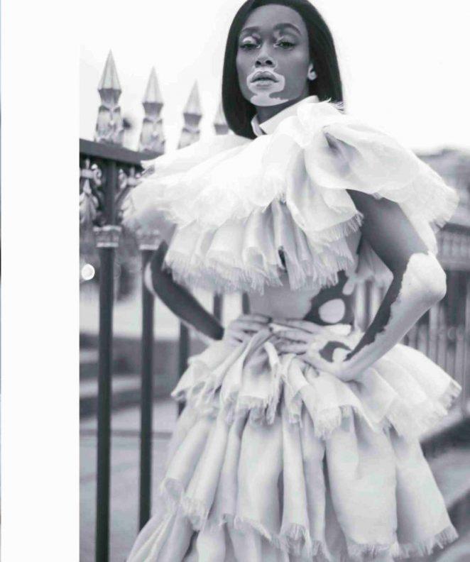 Winnie Harlow – Harpers Bazaar Mexico Magazine (November 2018)