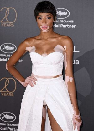 Winnie Harlow - L'Oreal 20th Anniversary Party in Cannes