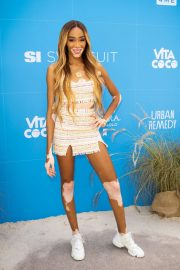 Winnie Harlow - Sports Illustrated Swimsuit On Location Day 2 in Miami