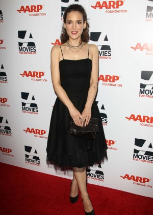 Winona Ryder - 2015 AARP's Movies for Grownups Awards in Beverly Hills