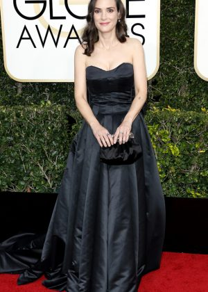 Winona Ryder - 74th Annual Golden Globe Awards in Beverly Hills