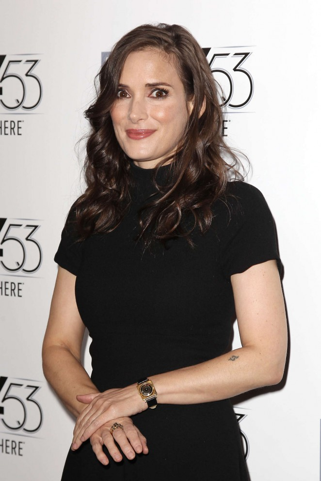 Winona Ryder - 'Experimenter' Premiere at 53rd NYFF in NYC