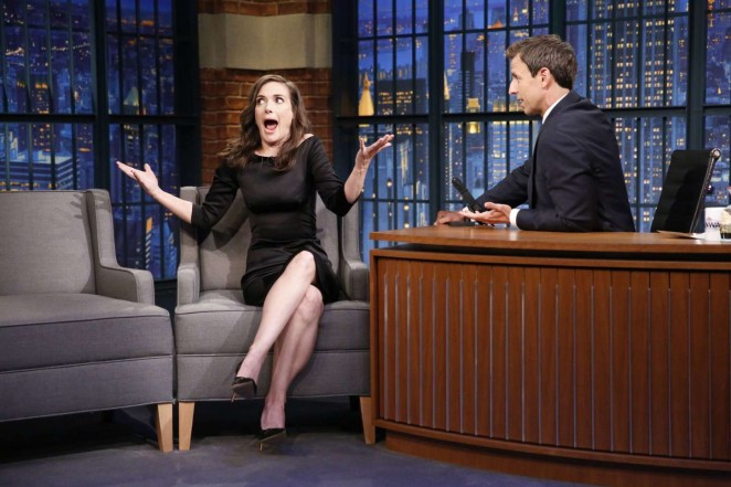 Winona Ryder: Late Night with Seth Meyers -09 - GotCeleb