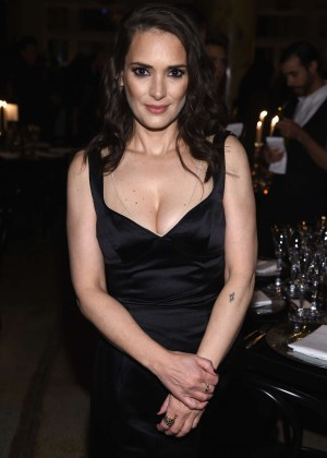 Winona Ryder - Marc Jacobs Beauty Velvet Noir Mascara Launch Dinner in NY