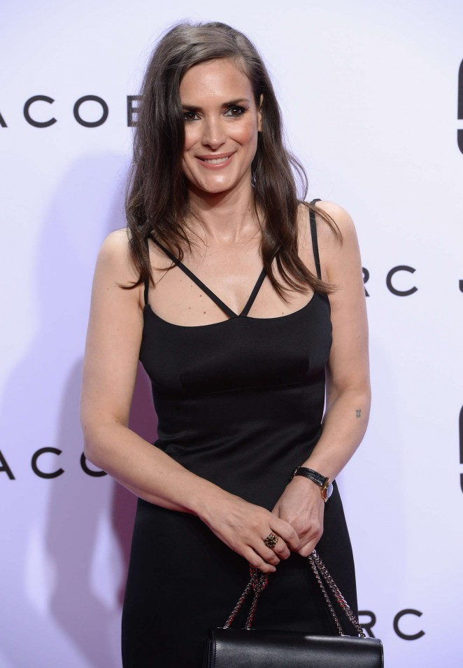 Winona Ryder – Marc Jacobs Fashion Show Spring 2016 NYFW in NYC