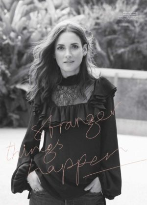 Winona Ryder - Marie Claire Magazine (November 2017)