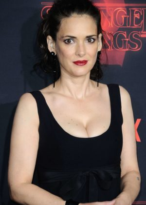 Winona Ryder - 'Stranger Things 2' Premiere in Los Angeles