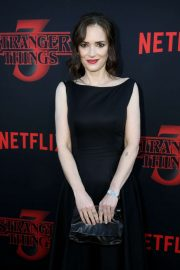 Winona Ryder - 'Stranger Things' Season 3 Premiere in Santa Monica