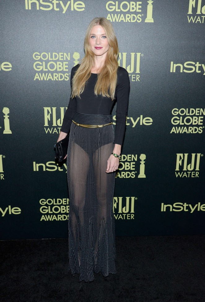 Winter Ave Zoli - HFPA And InStyle Celebrate The 2016 Golden Globe Award Season in West Hollywood