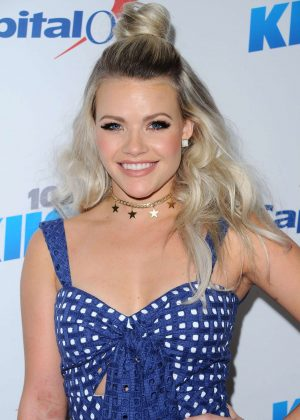 Witney Carson - 2016 KISS FM's iHeartRadio Jingle Ball in Los Angeles