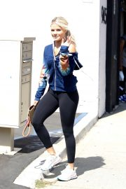 Witney Carson - Arrives at DWTS rehearsals in Los Angeles