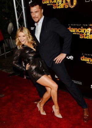 Witney Carson - DWTS 10th Anniversary Party in West Hollywood