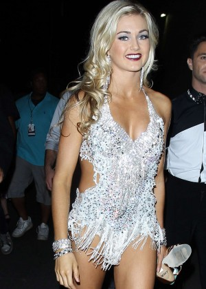 Witney Carson - DWTS Flash Mob in Hollywood