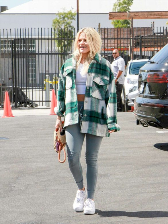 Witney Carson - Outside DWTS Studios in Los Angeles