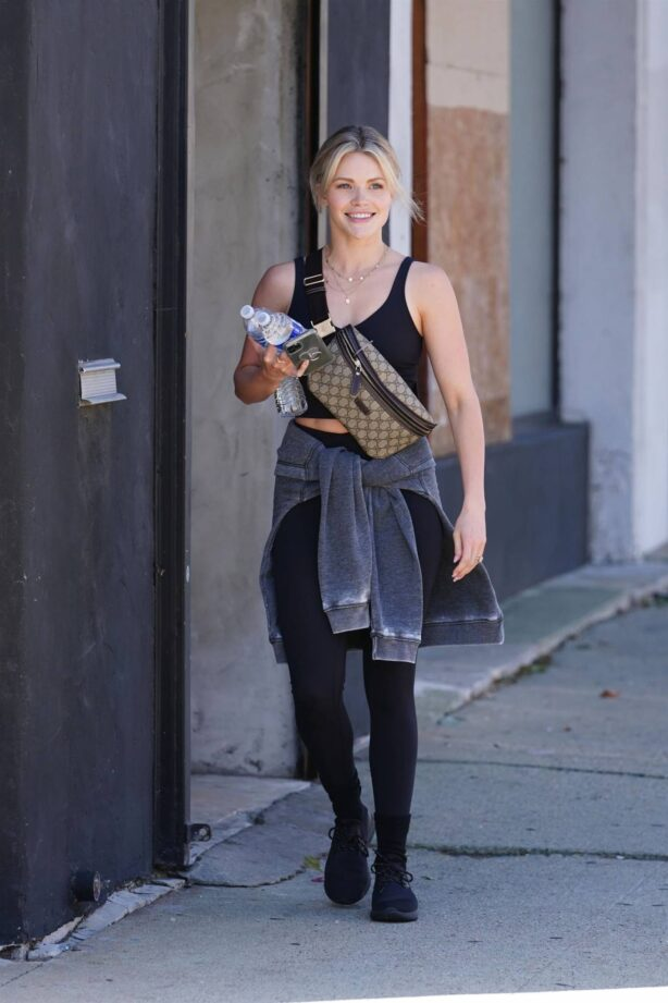 Witney Carson - Pictured at the Dancing With The Stars rehearsal studio in Los Angeles