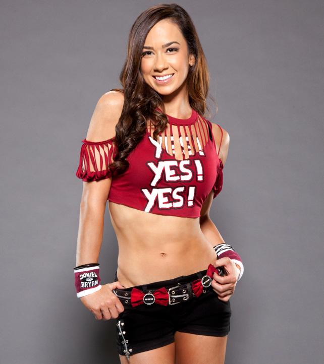 WWE Divas - AJ Photoshoot 2015