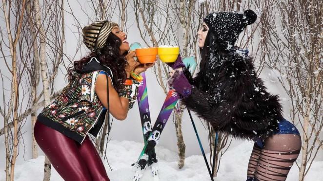 WWE Divas - Apres Ski Photoshoot 2015