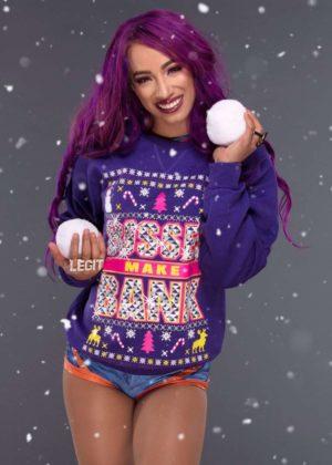 WWE Divas - Christmas Sweaters Photoshoot 2017