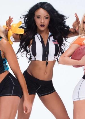 WWE Divas - Diva Bowl 2016 Shoot