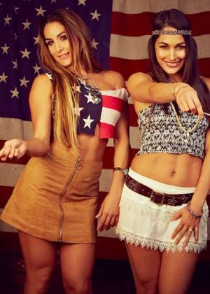 WWE Divas - Sparks Fly 2015