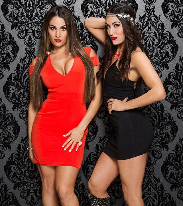 WWE Divas - Valentine's Day Divas 2015 Photoshoot
