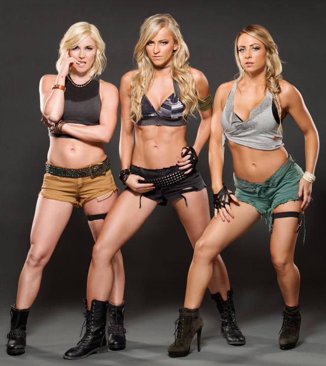 Wwes Emma Summer Rae And Renee Young Marine Themed Photoshoot 2015