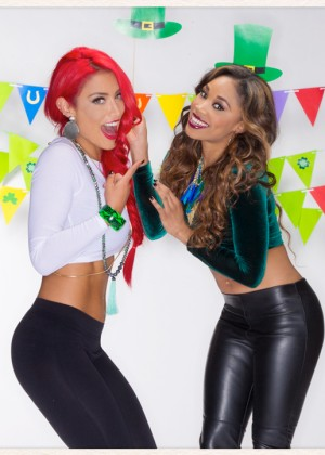 WWE - St. Patrick's Day Divas 2015 Shoot