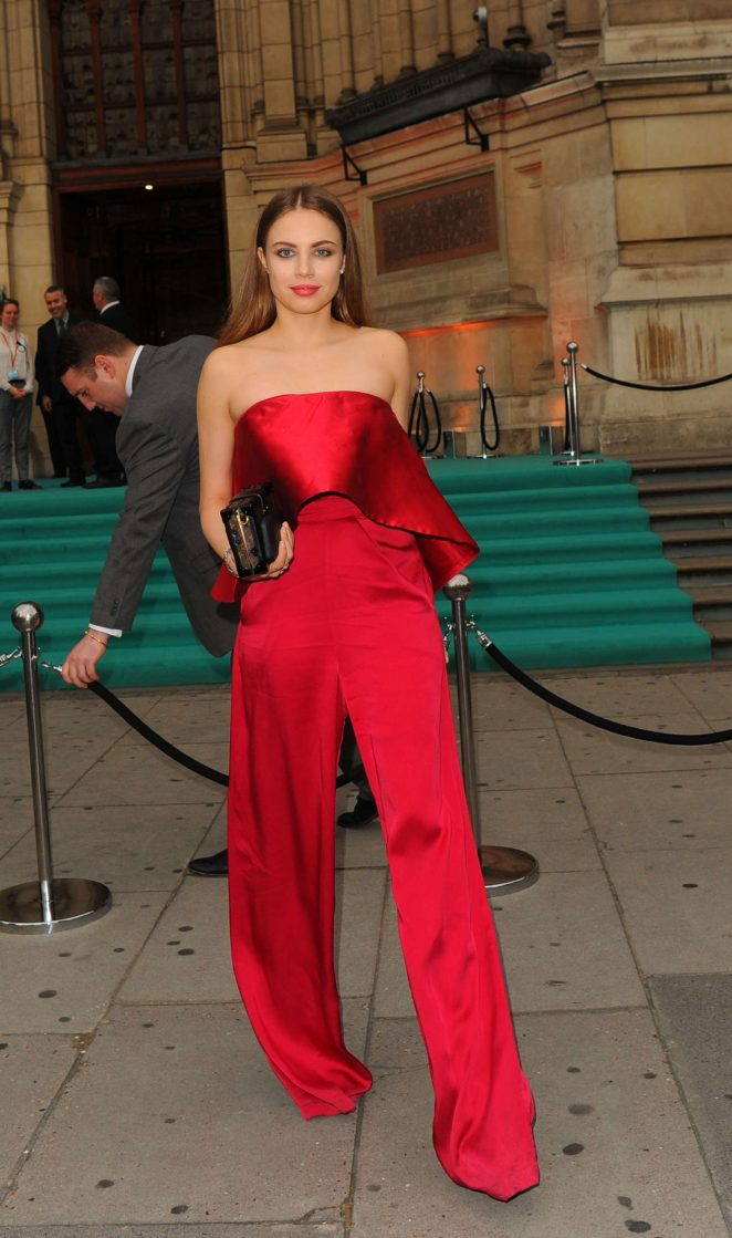 Xenia Tchoumitcheva - Arriving at the Victoria and Albert Museum Summer Party in London