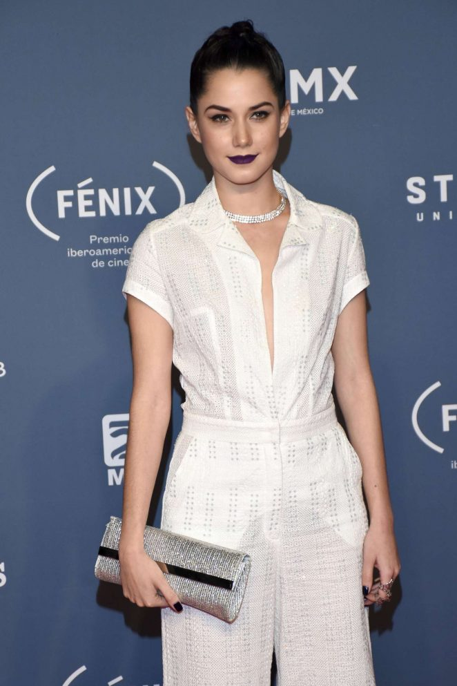 Ximena Romo - Fenix Awards 2016 in Mexico City