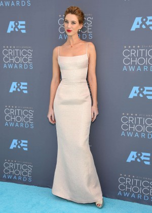 Yael Grobglas - 2016 Critics' Choice Awards in Santa Monica