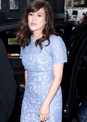 Yael Stone - 'Today' show in NYC