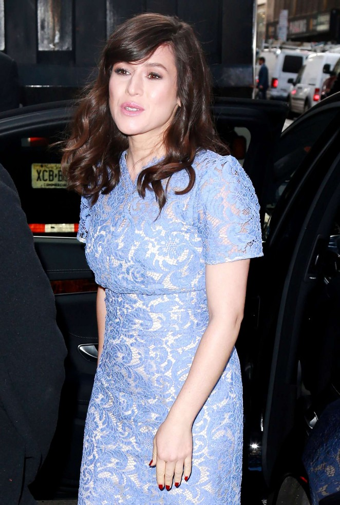 Yael Stone – 'Today' show in NYC