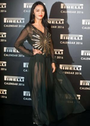 Yao Chen - Pirelli Calendar 2016 Gala Evening in London