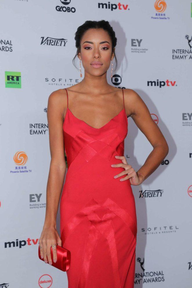 Yara Charry - 45th International Emmy Awards in New York City