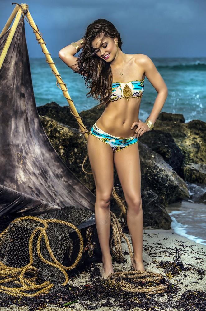 Yara Khmidan: Mar de Rosas Swimwear 2016 -24