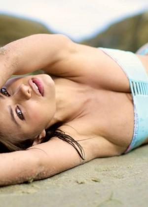 Yara Khmidan: San Lorenzo Swimwear 2015 -28