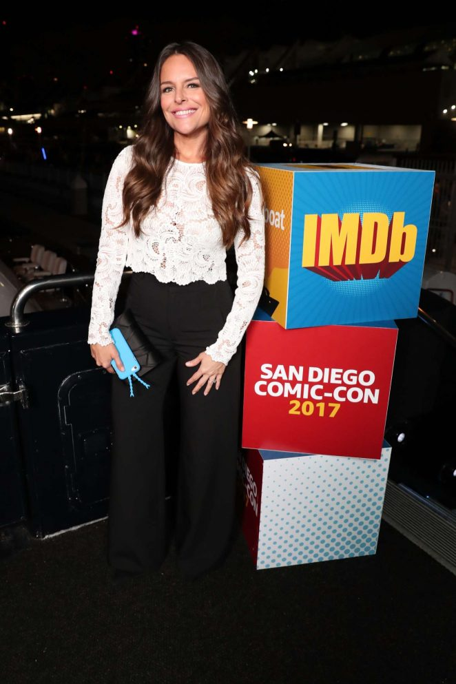 Yara Martinez - IMDboat At San Diego Comic-Con 2017