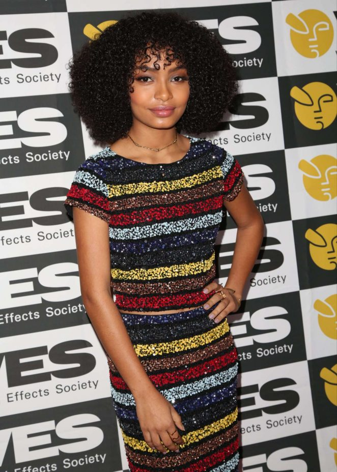 Yara Shahidi - 15th Annual VES Awards in Los Angeles