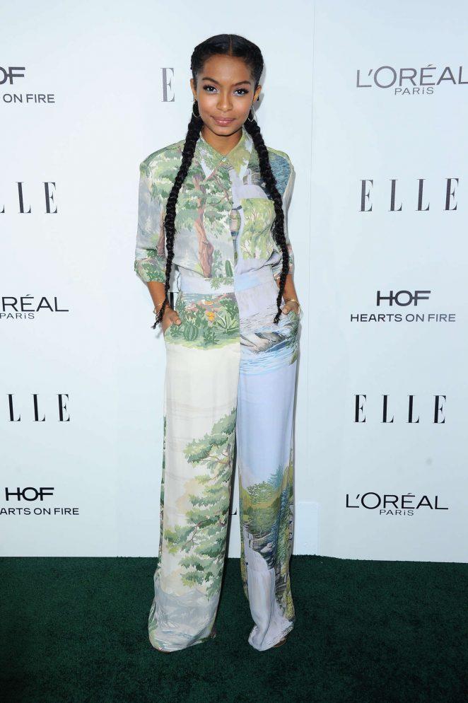 Yara Shahidi - 2016 ELLE Women in Hollywood Awards in Los Angeles