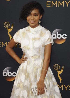 Yara Shahidi - 2016 Emmy Awards in Los Angeles