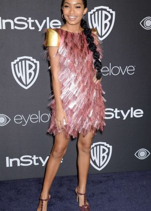 Yara Shahidi - 2017 InStyle and Warner Bros Golden Globes After Party in LA