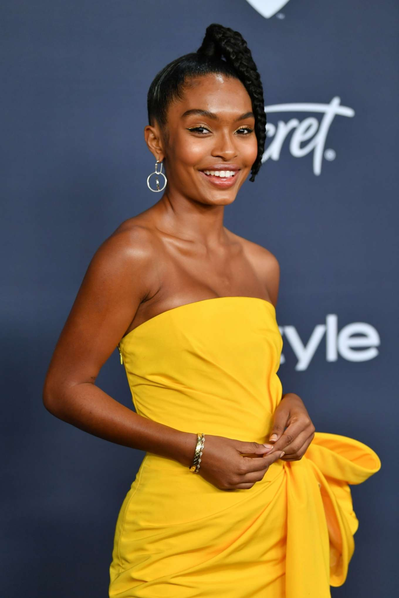 Yara Shahidi - 2020 InStyle and Warner Bros Golden Globes Party in Beverly Hills